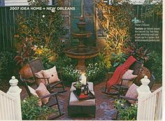 New Orleans patio