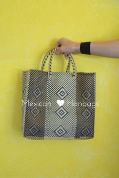 Handbag | Shoulder Bag | Laptop bag | Ipad Bag | colorful bag | Blue & Gold Bag | Mexican bag | Blue and gold handbag | Mexican Bag | Woven Mexican Bag | Chiapas bags | Oaxaca bags | Market Bags | Tote Bags