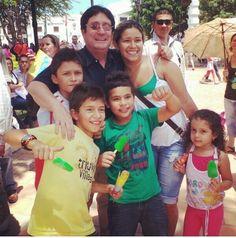 En Ocaña. Por éstos niños es que vamos a Retomar el Rumbo. @PachoSantosC