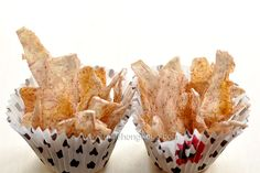 Taro Chips with Five-Spice Powder #baked #snacks