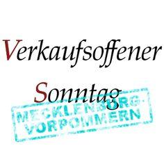 Verkaufsoffene Sonntage in Mecklenburg-Vorpommern http://mv.verkaufsoffener-so.de/