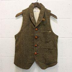 neck lined vest