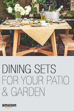 Top rated patio furniture sets and accessories.