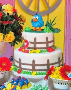 bolo festa galinha pintadinha
