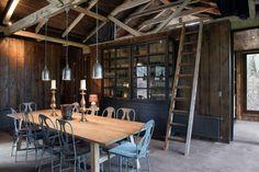 Galpon Ranco by Estudio Valdés Arquitectos | Photo @ Felipe Díaz Contardo renovated barn wood interior design http://www.woodz.co/galpon-ranco/