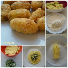 kaşar peynirli patates köftesi – Vejeteryan yemek tarifleri – Las recetas más prácticas y fáciles Potato Snacks, Potato Dishes, Appetizer Recipes, Snack Recipes, Cooking Recipes, Potato Patties, Cheese Patties, Good Food, Yummy Food
