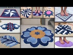 10 Jeans Doormat Making at Home || Old Clothe Reuse Recycle Ideas || Doormat - YouTube Reuse Old Tires, Reuse Recycle, Recycling, Tired Animals, Car Part Furniture, Modern Furniture, Furniture Design, Reuse Clothes, Tire Swings