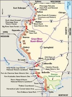"""HowStuffWorks """"Illinois Scenic Drives: Great River Road"""""""