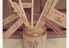 We love these vintage flag straws