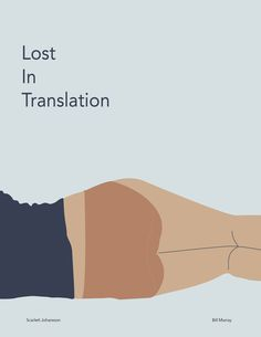 lost in translation poster - Google Search