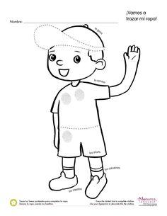 Free Spanish Worksheets for Kindergarten