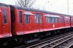 P stock car No 14233 was built in 1939 and was partially destroyed in an air raid at Neasden Depot in Sept 1940. On 7 Sept a Q38 stock trailer 013167 had been damaged in an air raid at Plaistow. It was decided to produce one carriage from the remains of the two. It re-entered service in 1941 as 14233. In the 1960s the metadyne control equipment was replaced with PCM resistance control equipment. It went to the District line in 1963 as number 54233.  It now resides at Quainton Railway Society