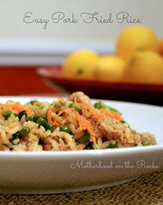 Quick Dinner Recipes Just Got Quicker Thanks to Land O' Lakes Sauté Express. Delicious yet easy pork fried rice