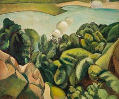 Le lac (The Lake), c. 1910 - Jean Hippolyte Marchand (1883–1941)