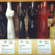 What is better than wine? These German wines that come in cat-shaped bottles! Perfect for that drunken cat lady on your Christmas list. Crazy Cat Lady, Crazy Cats, Cat Wine, Cat Merchandise, Cat Party, Here Kitty Kitty, Hot Sauce Bottles, Wine Bottles, Food Pictures