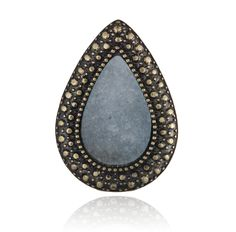 SAMANTHA WILLS - BOHEMIAN BARDOT RING - SLATE