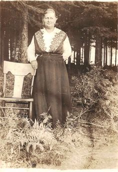GGG Grandmother Maria Drabe taken abt 1915 at Rainier, WA