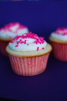 White Cupcakes with Vanilla Buttercream | Beantown Baker