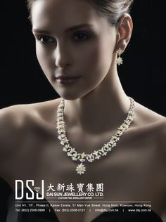 Dai Sun Jewellery Company Limited #HKJE #Magazine #SpringSummer2016 #Advertisement #Jewellery #Diamond #FineJewellery