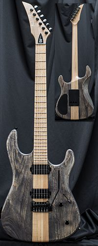 Kiesel Guitars JB100X Jason Becker Standard Guitar with Kiesel/Hipshot Tremolo Serial Number 137715