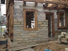 Stone Masonry, Wood Stone, Brick And Stone, Casas Country, Cedar Homes, Craftsman Exterior, Pole Barn Homes, Stone Houses, House In The Woods