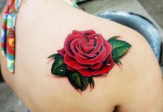 Rose Tattoo Designs and Concepts for women and men