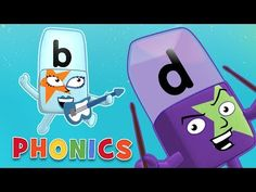 Phonics - ABC Adventures | Learn to Read with the Alphablocks - YouTube Phonics Sounds, Learning Letters, Learn To Read, Singing, Family Guy, Adventure, Reading, Videos, Youtube
