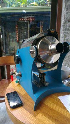 300g gas coffee roaster