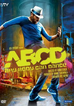 http://www.clickoncart.com/ABCD-Anybody-Can-Dance-DVD starcast 	: 	Prabhudheva director 	: 	Remo D'Souza producer 	: 	Ronnie Screwvala genre 	: 	Musical format 	: 	DVD label 	: 	Reliance Home Entertainment language 	: 	Hindi year 	: 	2013 Discs 	: 	1 subtitle 	: 	English region 	: 	Region Free audio 	: 	5.1 Dolby Digital rating 	: 	U