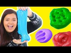 Best DIY Slime Recipes WITHOUT GLUE OR BORAX! How To Make Glue & Borax Free Slime - YouTube