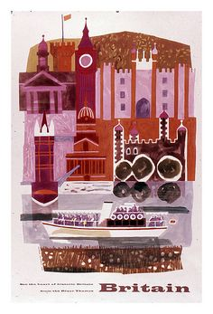 In love with this vintage travel poster