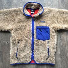 official photos 6d2fd 7fbe2 Vintage Patagonia Fall  04 Deep Pile Retro-X Fleece Jacket - Size Small