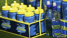 Comparing Lucozade to water created complaints.