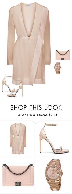 """Untitled #1992"" by quaybrooks on Polyvore featuring Yves Saint Laurent, Chanel and Rolex"
