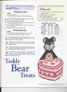 CANDY CRITTERS - TEDDY BEAR TREATS 1