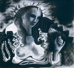Clive Hicks-Jenkins - Black Queen, 2000
