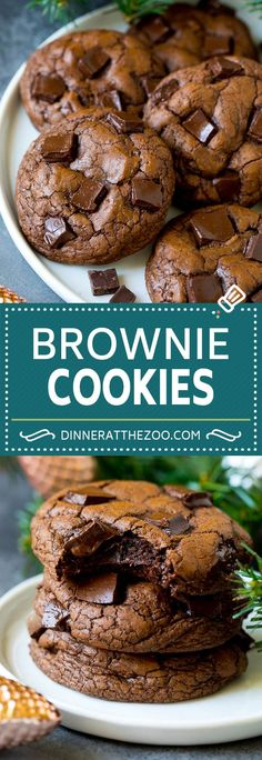 French Delicacies Essentials - Some Uncomplicated Strategies For Newbies Brownie Cookies Recipe Chocolate Cookies Smores Dessert, Diy Dessert, Quick Dessert Recipes, Easy Desserts, Easy Recipes, Chocolate Chip Shortbread Cookies, Chocolate Cookie Recipes, Brownie Recipes, Easy Chocolate Cookies