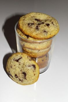 Cookies Et Biscuits, Coco, Muffins, Breakfast, Recipes, Ricotta, Yum Yum, Milk Cookies, Eggplants