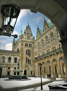 ✝☮✿★ HAMBURG ✝☯★☮ Hamburger Rathaus, Innenhof