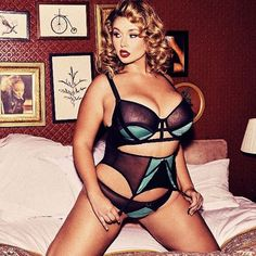 Hunter McGrady - plus size model - Curvy model - lingerie The prettiest in addition to hot women of all ages not to mention fresh MILFS sporting enthralling bikinis and in addition sexy dress . Or even more bras not to mention panties . Boudoir, Hunter Mcgrady, Si Swimsuit, Plus Size Model, Plus Size Lingerie, Lingerie Models, Women Wear, Swimsuits, Bikinis