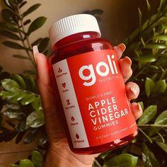 Apple Cider Vinegar Gummies by Goli Nutrition! Organic Vinegar, Apple Cider Vinegar, Weight Management, Fresh Fruit, Drink Bottles, Nutrition, Vegetables, Heart, Apple Vinegar