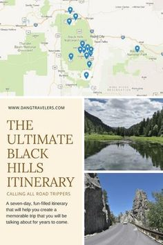 Black Hills Road Trip Itinerary: South Dakota Here You Come – Dang Travelers A fun-filled seven day Black Hills road trip itinerary that will take you through unforgettable scenery and exhilarating outdoor adventures in South Dakota. South Dakota Vacation, South Dakota Travel, Bad Lands South Dakota, North Dakota, Places To Travel, Travel Destinations, South America Destinations, Road Trip Usa, Usa Trip