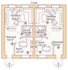 """Таунхаус 114 кв.м Проект """"Меркурий"""" +7 (917) 733-666-1 или +7 (937) 151-333-1"""