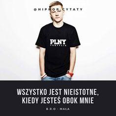 #rap #hiphop #polskirap #polskihiphop #rapcytaty #hiphopcytaty #cytatyrap #cytatyhiphop #cytat #cytaty #polishgirl #polishboy #polska #instagram #bro #b.r.o Rap, Hip Hop, Live, Quotes, Mens Tops, T Shirt, Instagram, Quotations, Supreme T Shirt