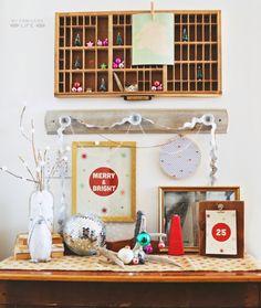 #Christmas Countdown // FREE Printable + DIY wood clipboard tutorial!
