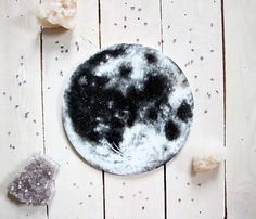 Full Moon Circle Painting