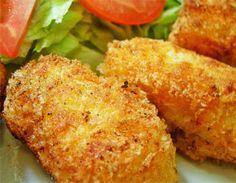 Aprende a preparar unas riquísimas croquetas de quinoa y atún, muy jugosas. Preparación paso a paso.