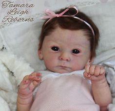 Tamara Leigh Reborns Reborn baby girl fake baby art doll Tamara Auty Mathis Gudrun Legler