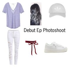 """""""Debut Ep Photoshoot 🎤📷"""" by parislove-jr on Polyvore featuring Victoria's Secret and Topshop"""