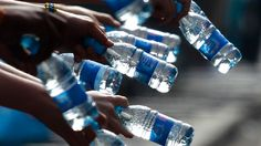 Nestlé's battle to keep pumping groundwater in southern Ontario amid a drought and First Nations water crisis is stirring the emotions of young and old in both Guelph, and other areas of Canada. Fiji Water Bottle, Bottled Water, Water Bottles, Water Supplier, Water Sources, Liquid Gold, Plastic Bottles, Drinking Water, Small Towns